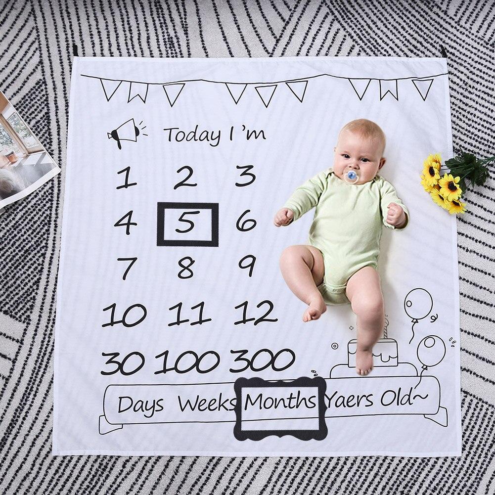 2pcs Set Newborn Hundred Days Memorial Photo Frame Baby Photo Frame Newborn Infant Photography Background Accessories