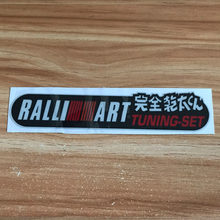 Jdm Voor Ralliart Embleem Scratch Cover Stickers Reflecterende Auto Sticker Voor Mitsubishi Honda Toyota Nissan Auto Accessoires(China)