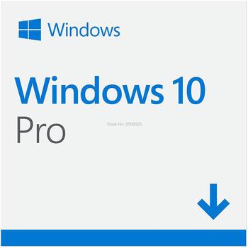 Microsoft Windows 10 Pro 32/64 bit Product Key Card Universal Version Computer Software Win 10 Professional
