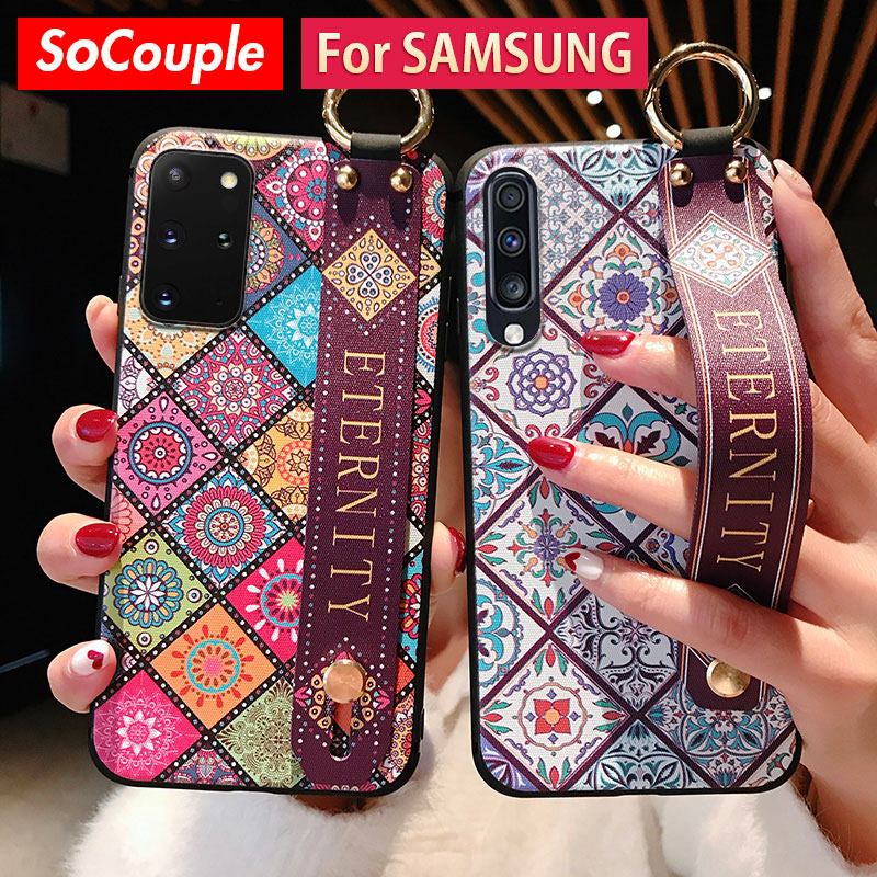 SoCouple Case For Samsung Galaxy Made Of TPU Material With Wrist Strap 4