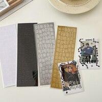 Pegatinas de Arte de plata y bronce del alfabeto en inglés, 1 unidad, planificador, diario, decoraciones, Material de papelería