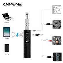Car-Adapter Headphone-Speaker Bluetooth-Receiver Wireless Jack Aux Music Anmone for MP3