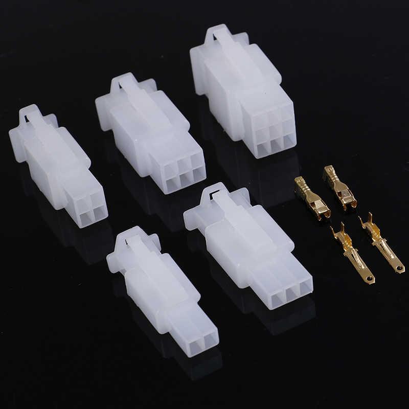 5 مجموعة/وحدة 2.8 مللي متر 2/3/4/6/9 دبوس السيارات سلك كهربائي السيارات/السيارات 2.8 موصل ل E-الدراجة والسيارات والدراجات النارية الخ