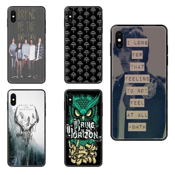 Bring Me The Horizon British Metalcore Bmth Bright For Redmi Note 4 5 5A 6 7 8 8T 9 9S Pro Max Black Soft TPU Phone Cover Case image