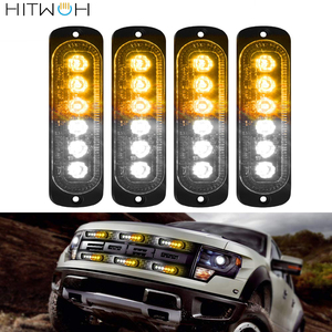 4PCS 6 LED 12v 24v Car Truck E
