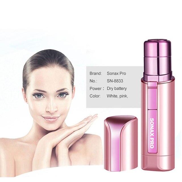 Portable Mini Electric Body Facial Hair Remover Depilator Epilator Eyebrow Shaver Bikini Body Face Neck Leg Hair Remover Tool 5