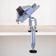 Небольшие универсальные тиски из алюминиевого сплава с вращением