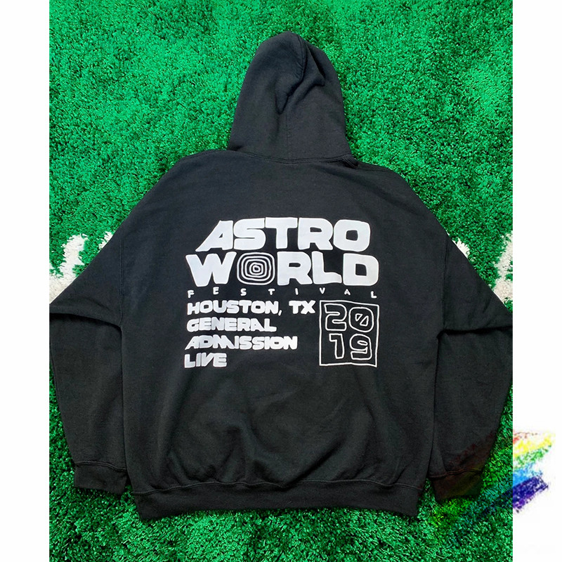 Travis Scott Festival Cactus Jack STAFF Astroworld Hoodie Women Men Best Quality Pullover