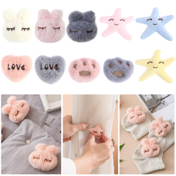 Lovely Rabbit Claw Shaped Quilt Holder Straps Suspenders Mattress Cover Clips Bed Sheet Anti-slip Grippers
