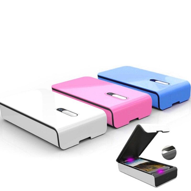 Smartphone desinfetante uv luz esterilizador de telefone