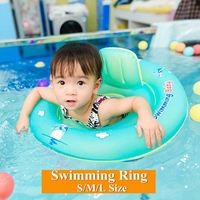 New Baby Inflatable Swimming Ring Float Kids Circle Seat Float Inflatable Pool Water Fun Toy Bathtub Swimming Pool Accessories