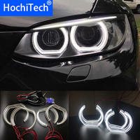 Ultra bright Crystal DTM Style LED Angel Eyes Halo Rings Light kits For BMW 3 Series E90 E92 E93 M3 Coupe / cabriolet 2007 2013