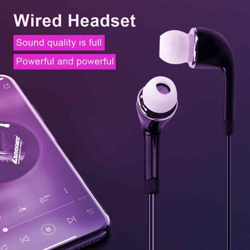 Para auriculares samsung de 3,5mm con micrófono con cable para samsung Galaxy s10 S9 S8 S7 S6 S5 S4 HUAWE smartphone TSLM1