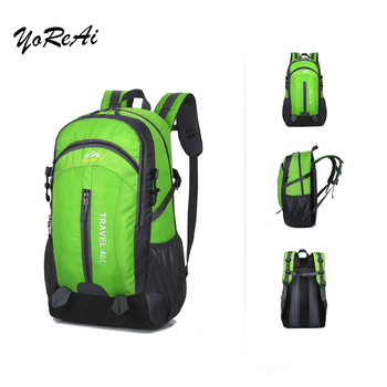 40L Unisex Waterproof Men Backpack Travel Pack Sports Bag Pack Outdoor Mountaineering Hiking Climbing Camping Daypack for Couple backpack rucksack waterproof climbing 40l outdoor sports bag travel camping hiking backpack women daypack trekking bags for men