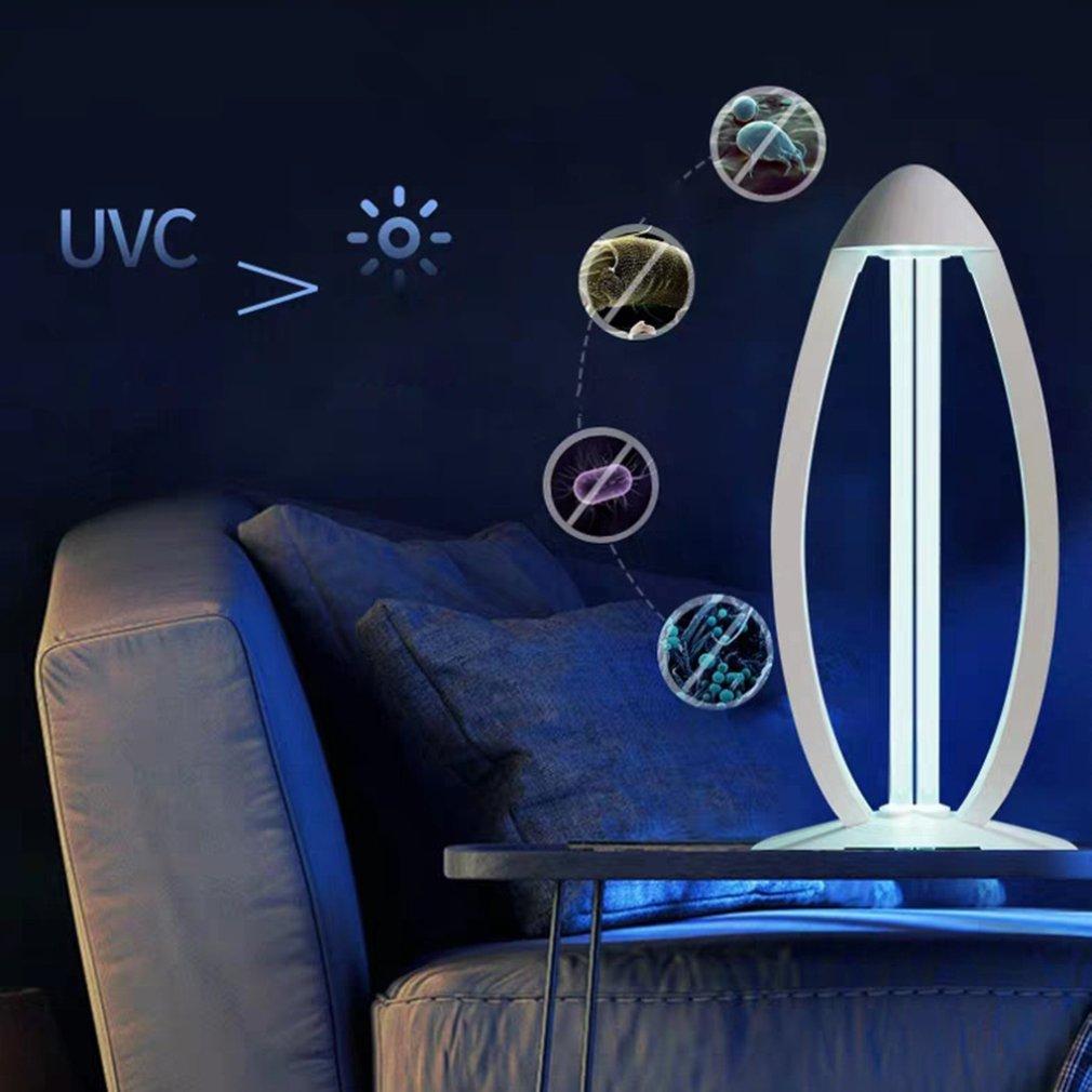 Uv Ozone Sterilization Lamp With Remote Control Ozone Function Double Sterilization Disinfection Sterilizing Lamp 1 Pcs