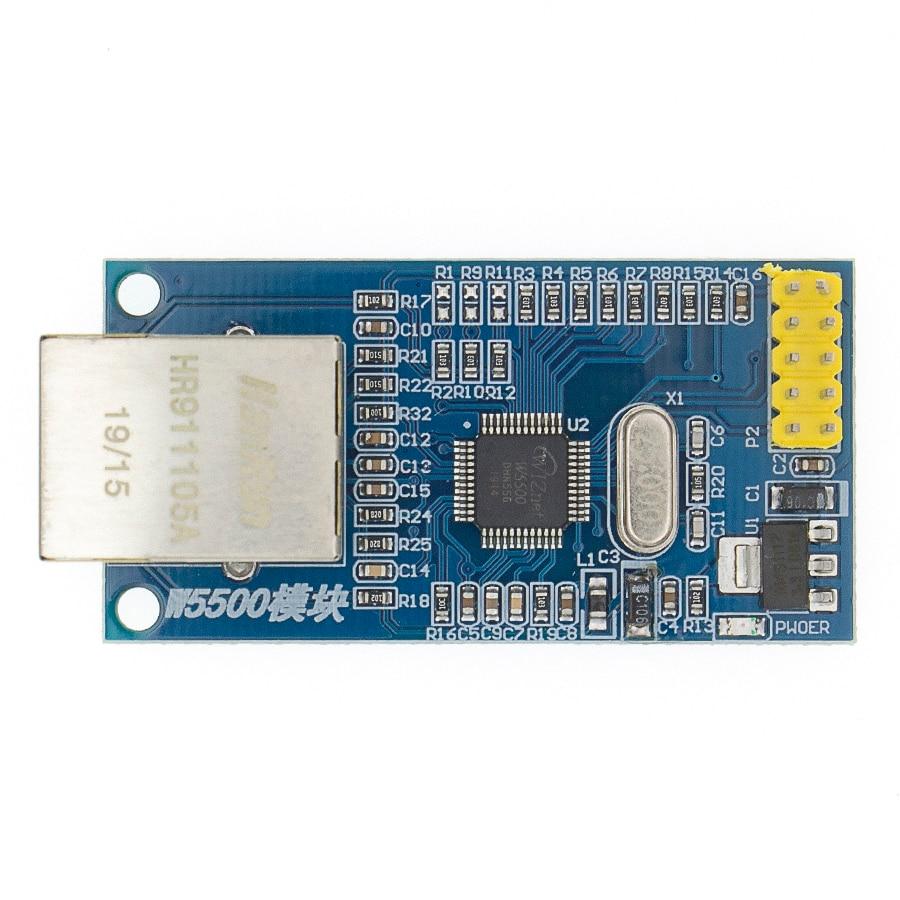 1pcs Original LQFP48 W5500 Microcontroller Ethernet Hardware TCP IP Stack