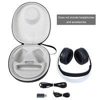Funda protectora portátil para auriculares inalámbricos PULSE 3D, a prueba de golpes, cubierta de viaje anticaída/bolsa de almacenamiento, caja con cremallera para Sony PS5