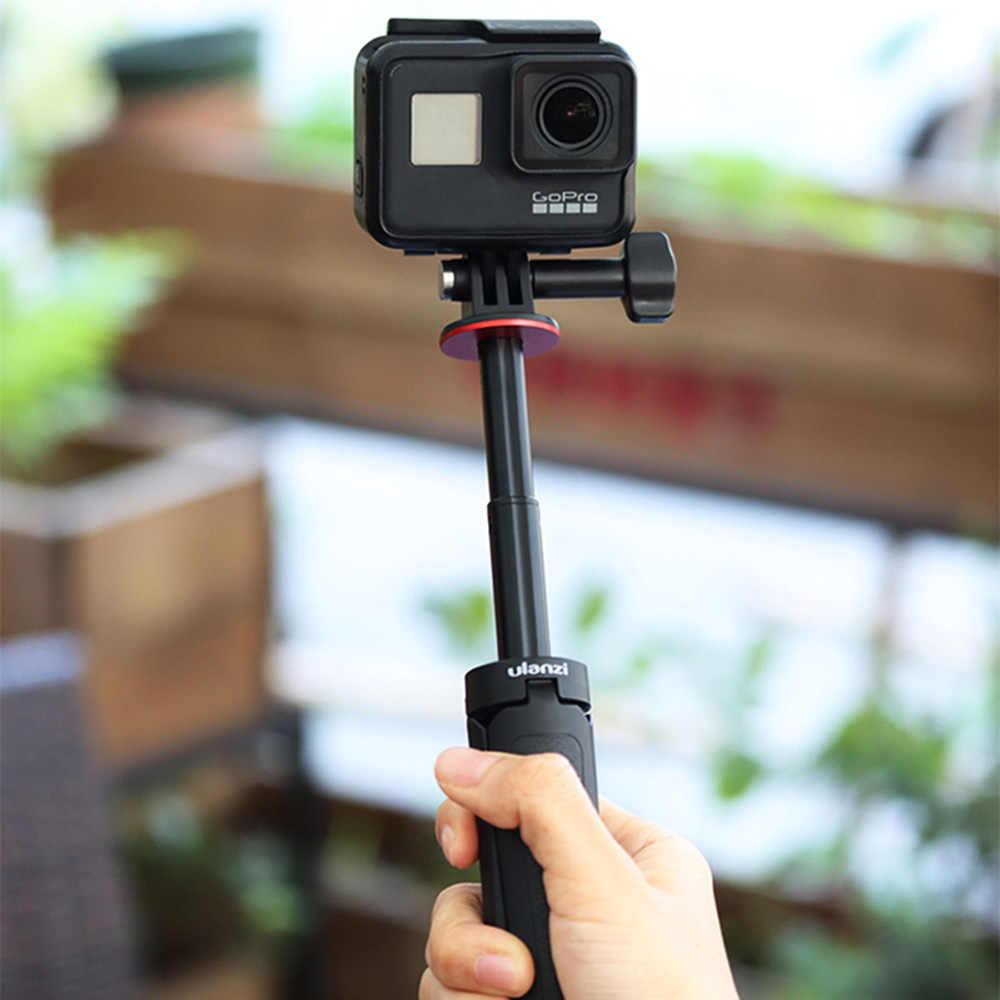 Ulanzi Universal Mini Action Camera Memperpanjang Tripod Mini Travel Vlog Tripod Untuk GoPro 8 7 6 5 Pahlawan Hitam Eken sjam