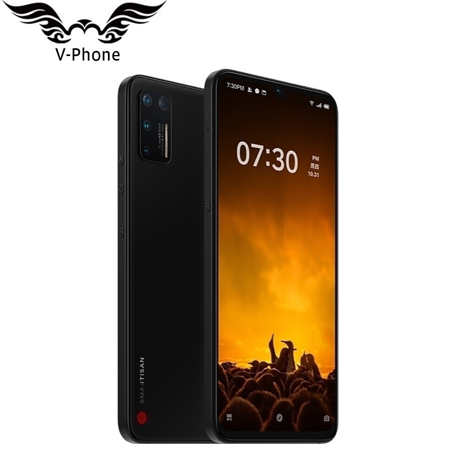 Brand New Smartisan Nut Pro 3 8GB RAM 256GB 128GB ROM Mobile Phone Snapdragon 855+ Octa Core 48MP 5 Camera 4G Phone