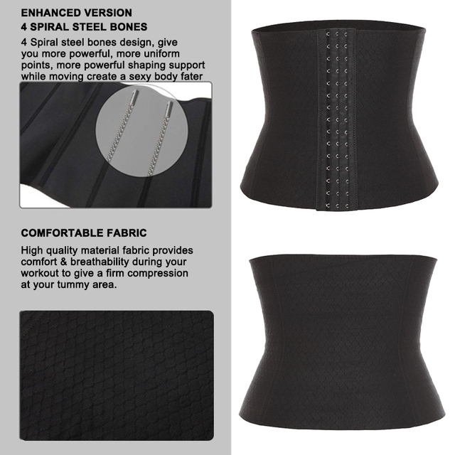 Men's Waist Trainer Sweat Slim Belt for Men Sauna Slimming Vest Waist Cincher Body Shaper Fitness Shapewear Tummy Corset 3