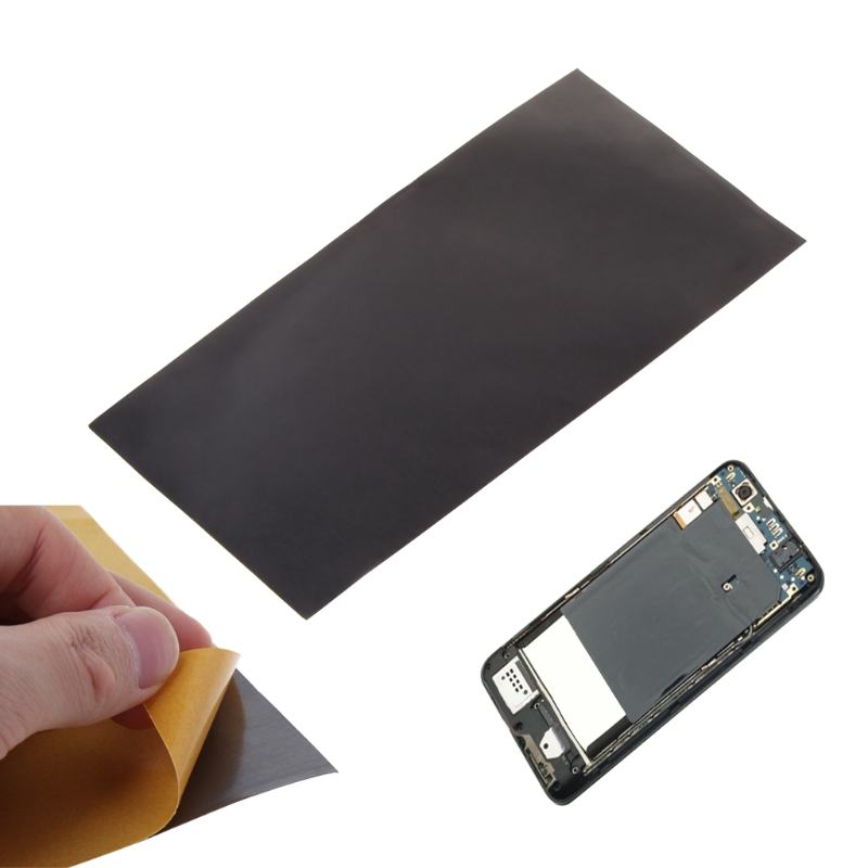 High Conductivity Thermal Pad Heatsink Synthetic Graphite Cooling Film Piece