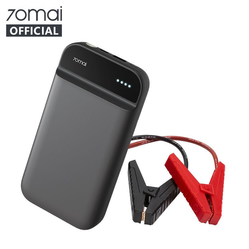 NEW 70mai Jump Starter 11000mah 70 Mai car Jump Starter Power Bank With Bag Car Jumpstarter Auto Buster Car Emergency Booster