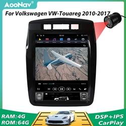 Tesla Style Car Multimedia Player GPS Navigation For Volkswagen VW-Touareg 2010 2011 2012 2013-2017 2 Din Stereo Radio Player