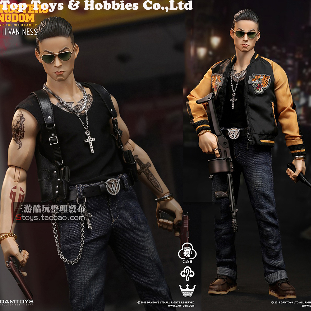 in stock full set Gangsters Kingdom Club 2 Van Ness(GK017) Wu Jianhao Van Ness  Action Figure Colletible Toys