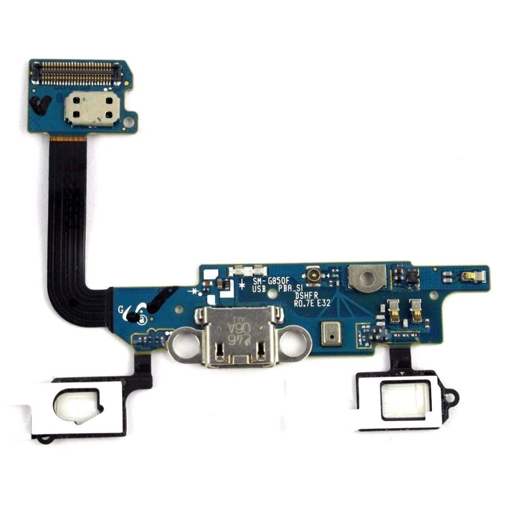 Flex Cable For Samsung Galaxy Alpha SM-G850F/AT&T SM-G850A Charging Port Connector Board Repair Parts