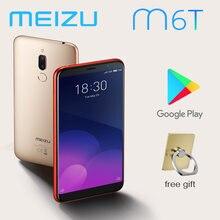 98% novo meizu m6t smartphone 4g 32g 5.7 rear tela cheia câmera traseira dupla versão global mt6750 super mback ingerprint pagamento