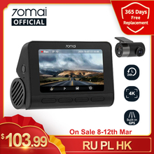 Car DVR Image Dash-Cam A800S GPS Parking UHD ADAS In-Stock 70mai Sony Imx415 Real-4k