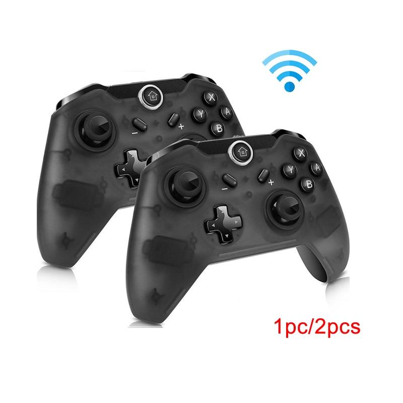 Sem fio bluetooth pro controlador remoto gamepad para nintend switch pro console para ns para controle de computador joystick