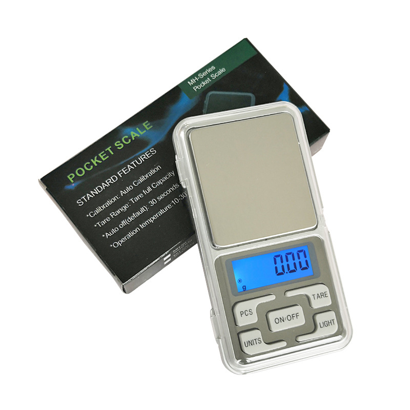 High Precision  Mobile Weigher Mini Digital Scale 500/0.1g  Accuracy Backlight Electric Pocket For Jewelry Gram Weight Kitchen