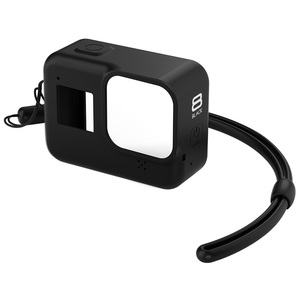 Image 4 - For GoPro 8 Accessory Soft Silicone Case Skin Protective Shell Housing Silicone Cover for Go Pro Hero 8 Black Action Camera