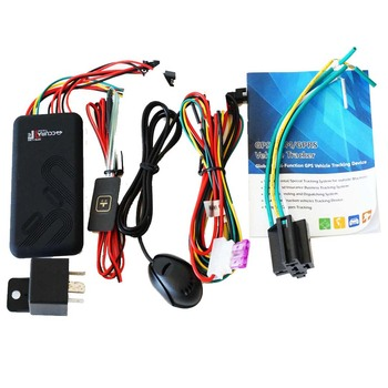 GPS tracker gps tracking ! Mini car Vehicle GPS Tracker GT06 with Cut off fuel / Stop engine / GSM SIM alarm image