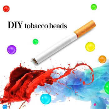 100 sztuk papierosów wyskakuje koraliki owoce smak miętowy smak uchwyt papierosów akcesoria do palenia prezent dla mężczyzny filtr uchwytu papierosów tanie i dobre opinie CN (pochodzenie) 17600 Cigarette pops Increase flavor 100pcs box