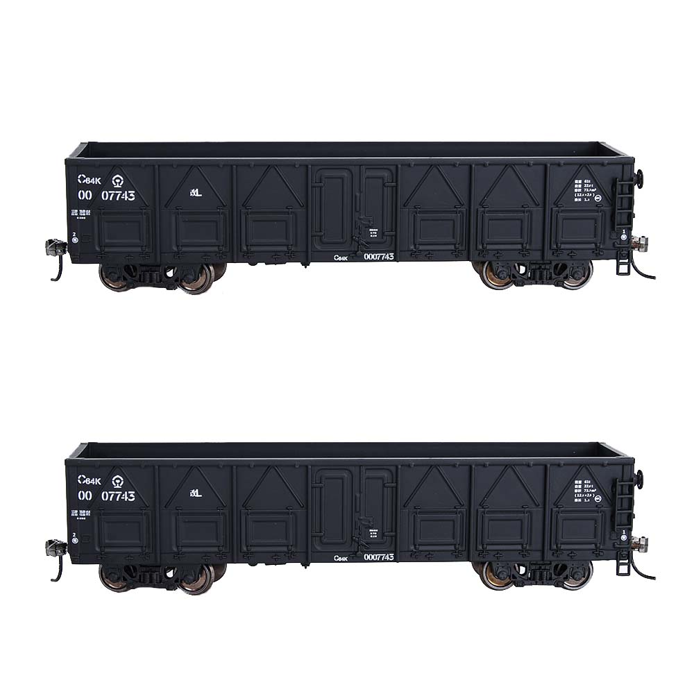 HO Scale 1:87 20ft and 40ft Container Carrier Car Model Train Transport Truck Car For Train Diorama Sand Table Landscape Layout