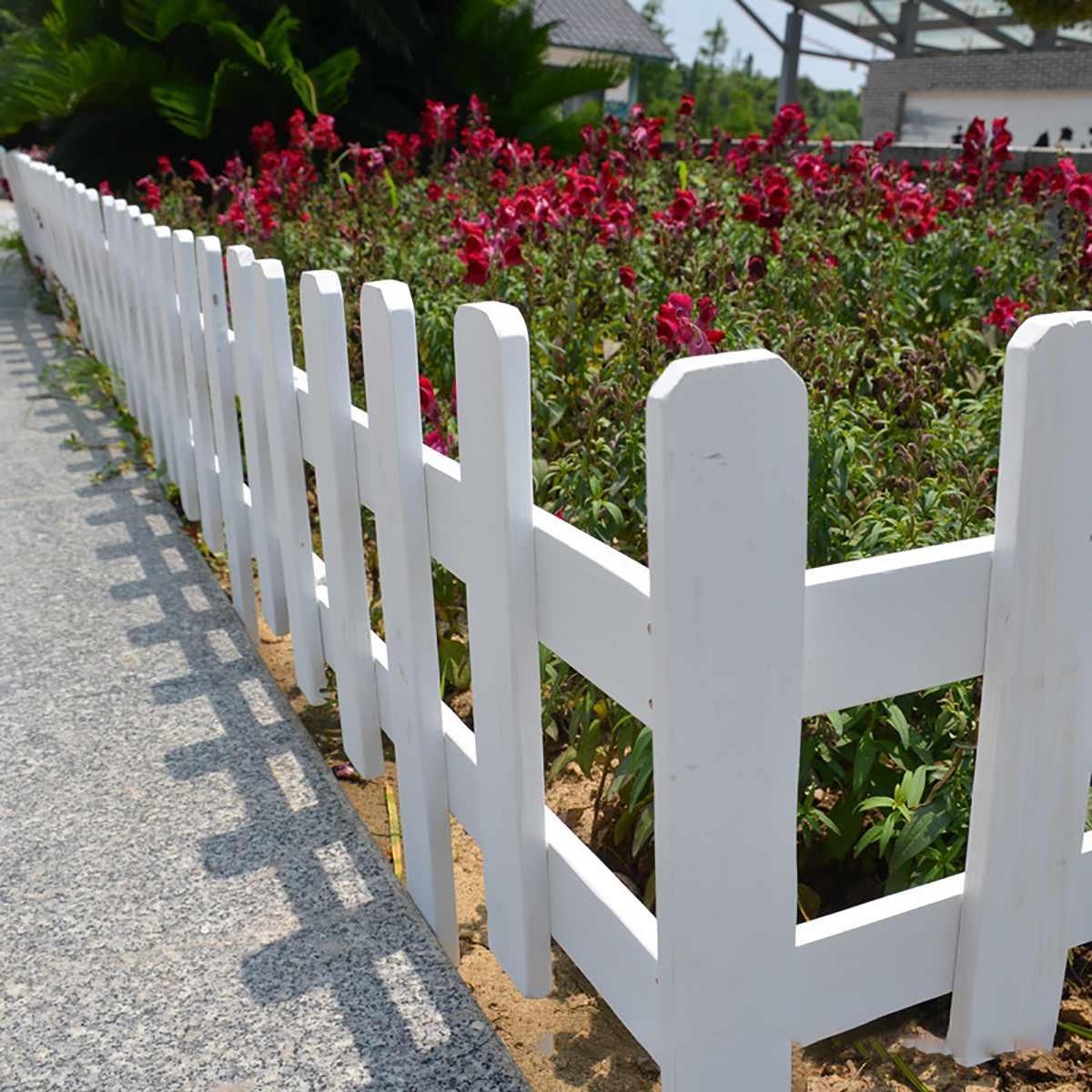 cheapest 20X Interlocked Landscape Edge Garden Side Lawn Edge Pp Fence Lawn Decoration