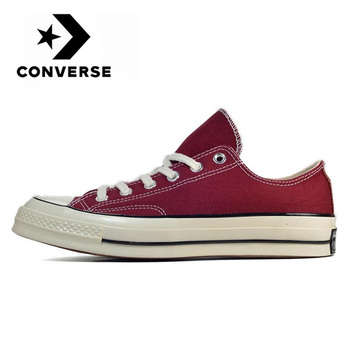Original Converse Chuck 1970s Classic Low Top men and women unisex Skateboarding sneakers leisure netural red flat canvas Shoes stylish skateboarding shoes unisex classic white shoes men women leisure waterproof air cushion skateboard shoes flat sneakers