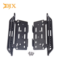 DJX Metal Pedal Foot Side Steps Parts Accessories for 1/10 RC Crawler Car Axial Scx10 SCX10 II 90046|Parts & Accessories| |  -