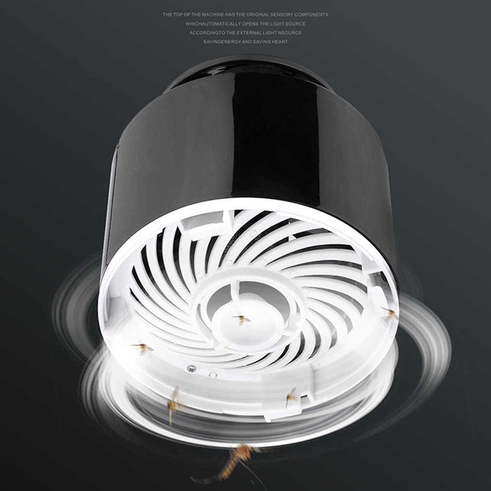 Usb Mosquito Killer Lamp Insect Fly Bug Trap Pest Led Control Uv Light Zapper Household Mosquito Killer