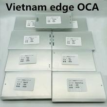 Pegamento de cobertura completa de 150um, adhesivo de uso con molde de Vietnam, pantalla de visualización Lcd laminada sin ondas