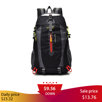 40L Climbing Bag Backpack Men Bicycle Ultralight Travel Backpack Riding Hiking Backpacks Waterproof Portable Sports Bags wholse ultralight mountain bicycle bike backpack waterproof sports climbing bags outdoor travel rucksack cycling riding running bag