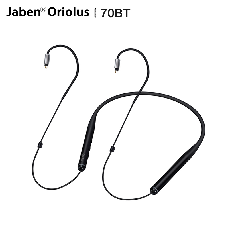 Jaben Oriolus 70BT Bluetooth Earphone cable with 2Pin/0.78mm Detachable plug support SBC/AAC/aptX for  Oriolus Oriolus Finschi 1