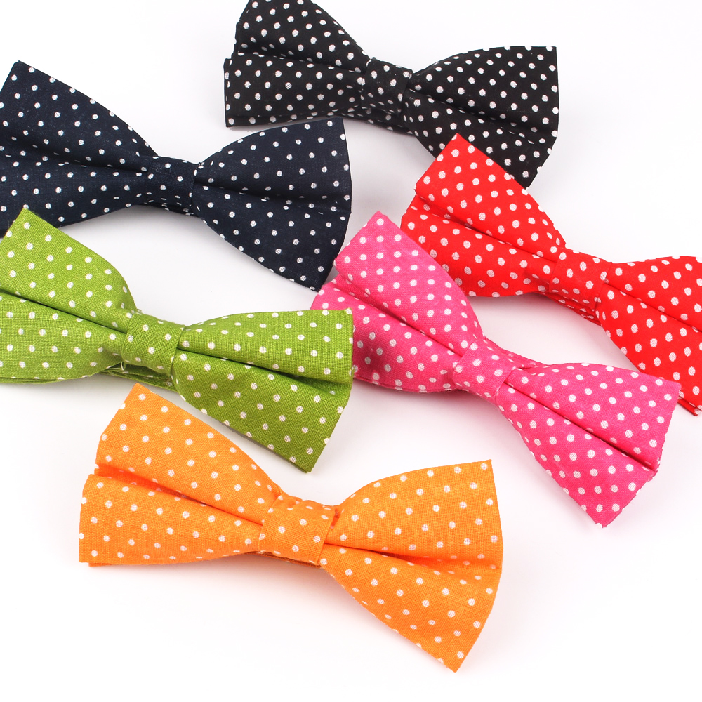 Fashion Men Bowtie Classic Bow Tie For Men Bowknot AdultDots Bow Ties Cravats Bowties For Wedding Party