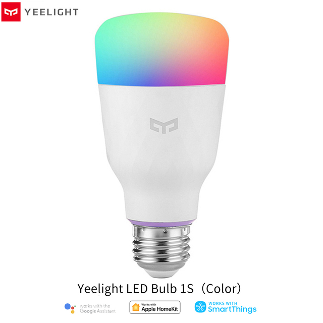 Yeelight bombilla LED inteligente, colorida, 800 lúmenes, 10W/8,5 W, E27 Lemon, para aplicación para hogares