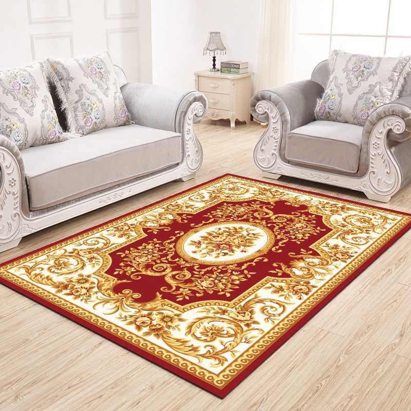 Salon marocain tapis maison arabe rétro tapis pour chambre américaine tapis  canapé Table basse tapis étude chambre ethnique tapis de sol