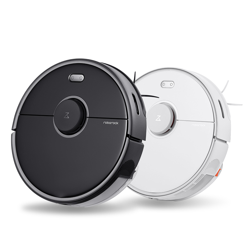 New Roborock S5 Max Vacuum Cleaner Robot Laser Navigation Wet And Dry 2000Pa High Efficiency With App Control For Home Cleaning
