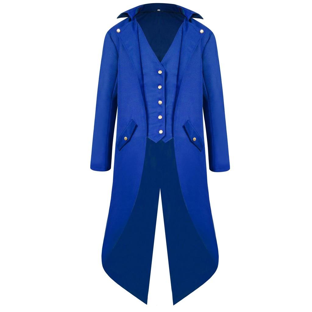 H1c519311b38c402283a527cda93343a0V vintage Medieval Robe Cosplay Costume vintage men's trench Men's Coat Tailcoat Jacket Gothic Frock Coat Uniform Praty Outwear#g3