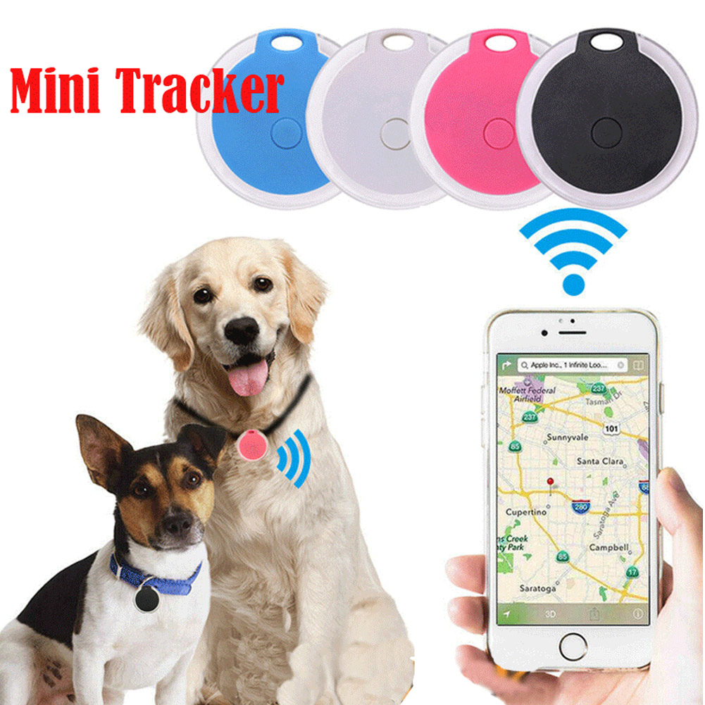 Smart Mini Bluetooth Wireless Tracking Device GPS Tracker Anti-lost Alarm Key Finder Pet Child Motorcycle Positioner Tracking